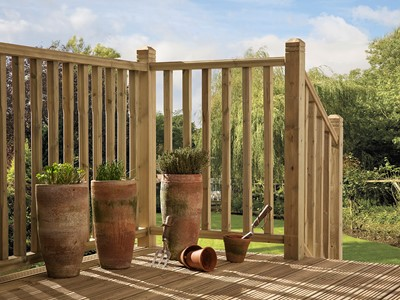 Treated Deck Spindles