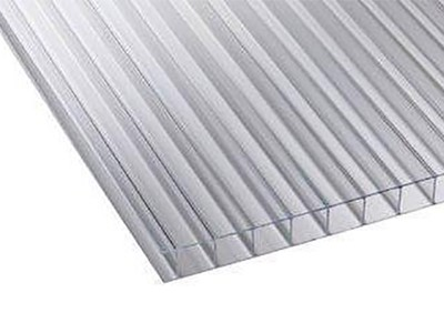 Clear Twinwall Polycarbonate Sheet