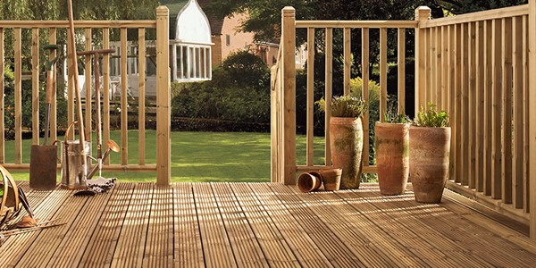 UC3 TreatedSoftwood Decking27 x 145mm